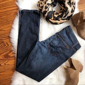 Joes Jeans Straight Leg Dark Wash Slim Denim Pants